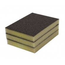Solvent Free Eco 60 Grit Medium Single-Sided Sanding Pad - 3/pack