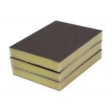 Solvent Free Eco 80 Grit Medium Single-Sided Sanding Pad - 3/pack