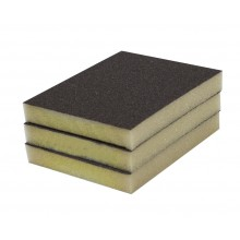 Solvent Free Eco 100 Grit Fine Single-Sided Sanding Pad - 3/pack