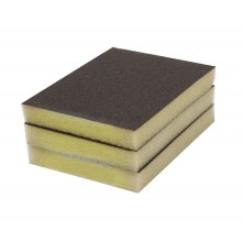 Solvent Free Eco 150 Grit Very Fine Single-Sided Sanding Pad - 3/pack