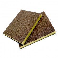Solvent Free Eco 100 Grit Fine Double-Sided Sanding Pad - Bulk