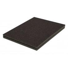Solvent Free Eco 60 Grit Medium Super Contour Sanding Pad - Bulk