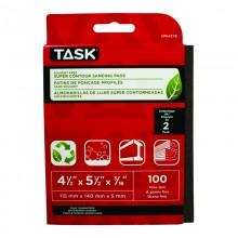 Solvent Free Eco 100 Grit Fine Super Contour Sanding Pad - 2/pack