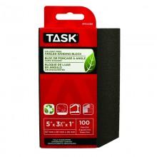 Solvent Free Eco 100 Grit Fine Angled Sanding Block - 1/pack