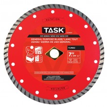 "7"" Turbo SVS Diamond Blade - 10 per Display Box"