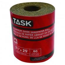 """3-2/3"""" x 25' 60 Grit Medium Aluminum Oxide Rolls - 1/pack"""