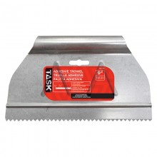 """9"""" (1/16"""" x 3/32"""") Saw Tooth Adhesive Spreader"""