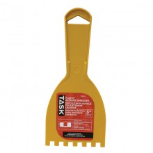 "3"" (1/4""x1/4""x1/4"") Plastic Squre Notch Adhesive Spreader"