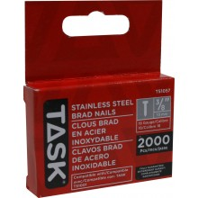 "3/8"" (10mm) Stainless Steel Brad Nails - 2000/pack"