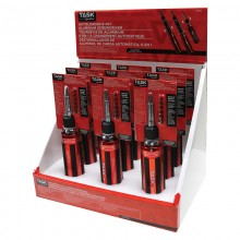 6-in-1 Autoloader Screwdriver with Aluminum Handle - 9 per Display Box