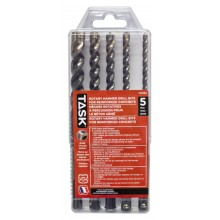 5 pc SDS+ 3-Edge Rotary Hammer Drill Bit Set