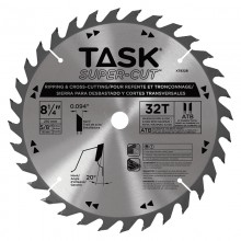 "8-1/4"" 32T ATB Supercut Ripping & Cross-Cutting Blade - Bulk"