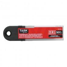 Lames rétractables PowerBlack, 9 mm – 50/paquet