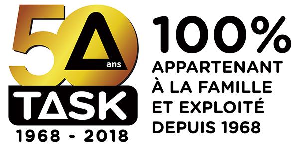 Task 50th logo
